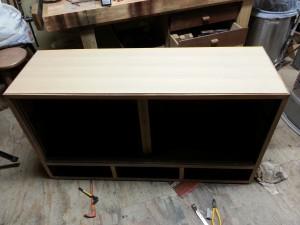 家具修理|シェルフ|天板交換後