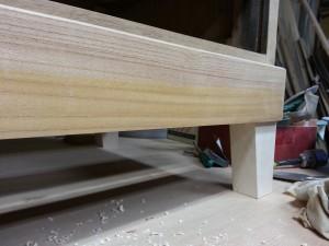 家具修理|シェルフ|脚のリメイク