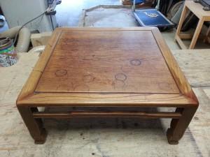 家具修理|座卓|修理前写真1枚目
