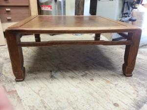 家具修理|座卓テーブル|修理前写真3枚目