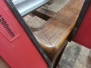 家具修理|座卓|ホゾ修理写真2枚目