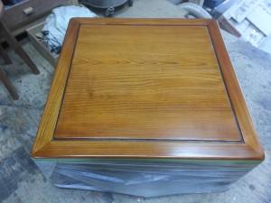 家具修理|座卓テーブル|塗装写真2枚目