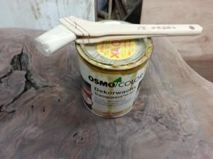 家具修理|事例|ミシン台修理|塗装