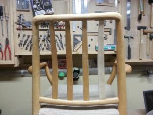 家具修理|椅子|背もたれ材料|取り付け