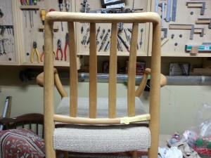家具修理|椅子|背もたれ材料|塗装