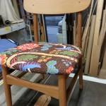 椅子、張替、生地、持ち込み、着物、カーテン