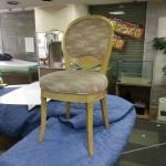 椅子、張替、ウレタン、チップ