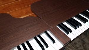 木製、ピアノ、看板、メラミン、立体