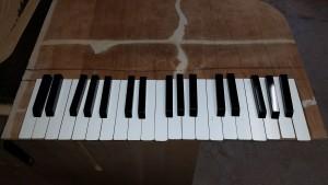 ピアノ教室看板 設置イメージ