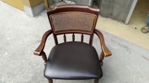 椅子の張替 背の籐張替