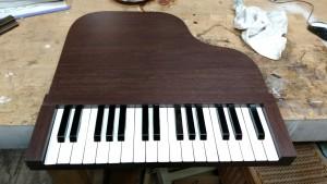 ピアノ教室看板 木製