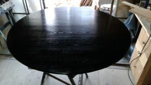 ちゃぶ台・座卓の修理 塗装後